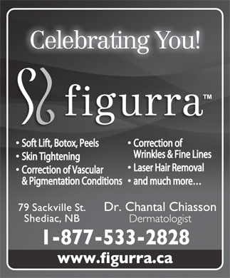 Clinique Figurra Clinic (506-800-1974) - Display Ad