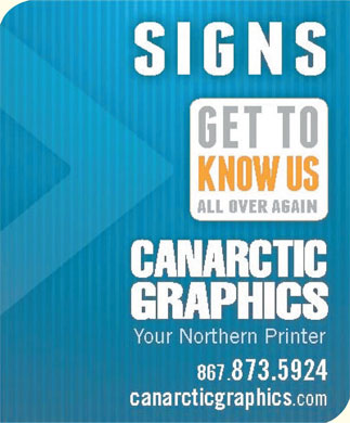 Canarctic Graphics (867-873-5924) - Display Ad
