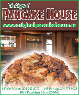 The Original Pancake House (204-775-9035) - Annonce illustrée