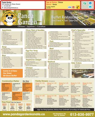 Chinese Food Buffet Kanata