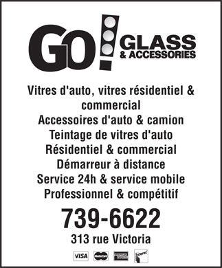 Go Glass Accessories (506-739-6622) - Display Ad