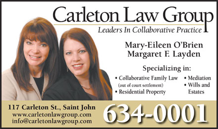 Carleton Law Group (1-855-224-8608) - Display Ad