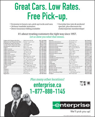 Enterprise Rent-A-Car (1-888-305-8051) - Display Ad
