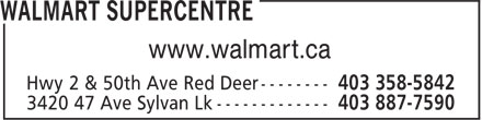 Walmart (403-358-5842) - Display Ad - www.walmart.ca