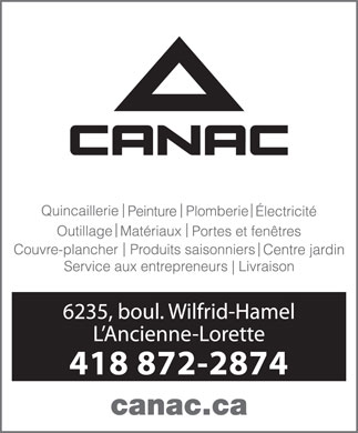 Canac (418-872-2874) - Display Ad