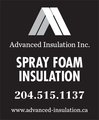 Advanced Insulation Inc. (204-470-9797) - Display Ad - 204.515.1137 204.515.1137