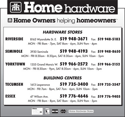 Home Hardware (519-948-3671) - Display Ad